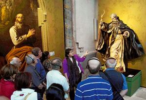 visitantes en Monacatus, Edades del Hombre, Oña Burgos 2012