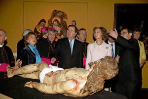 presentación de Paisaje Interior, Edades del Hombre, Osma-Soria 2009