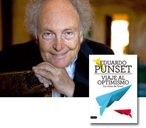 Eduardo Punset y su libro Viaje al optimismo