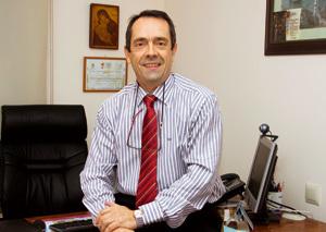 Rafael Capitán, de la agencia de viajes Turismo y Peregrinaciones 2000