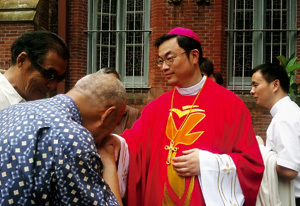 Taddeo Ma Daqin obispo auxiliar de Shanghai