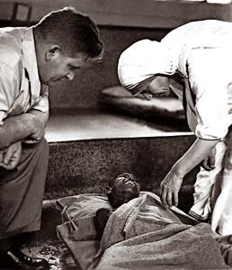 P. Werenfried y Madre Teresa de Calcuta