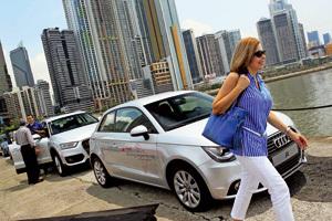 feria de coches de gama alta en Panamá
