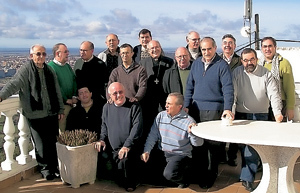 reunión de consiliarios de Acción Católica en Extremadura
