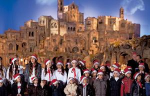 coro de niños canta en el Vaticano en Navidades 2012