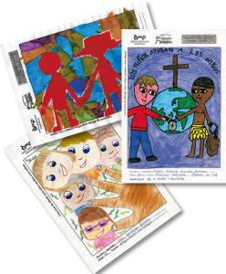 dibujos del concurso de la Infancia Misionera 2013