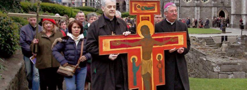 arzobispo de Dublín y líder anglicano encabeza procesión ecuménica en Irlanda