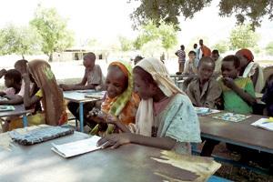 proyecto educativo de Entreculturas en Chad
