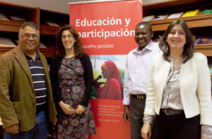 responsables de proyectos educativos de Entreculturas