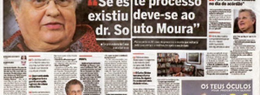 entrevista a Catalina Pestana en Portugal sobre abusos sexuales de sacerdotes