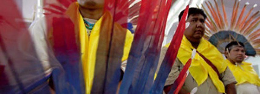 indígenas de la región del TIPNIS en Bolivia