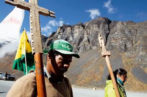 9 marcha indígena desde Trinidad hasta La Paz bolivia