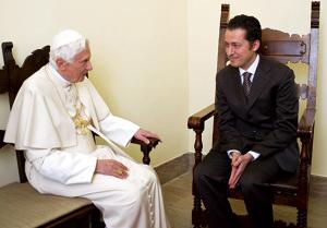 papa Benedicto XVI visita a Paolo en Gabriele para concederle el indulto