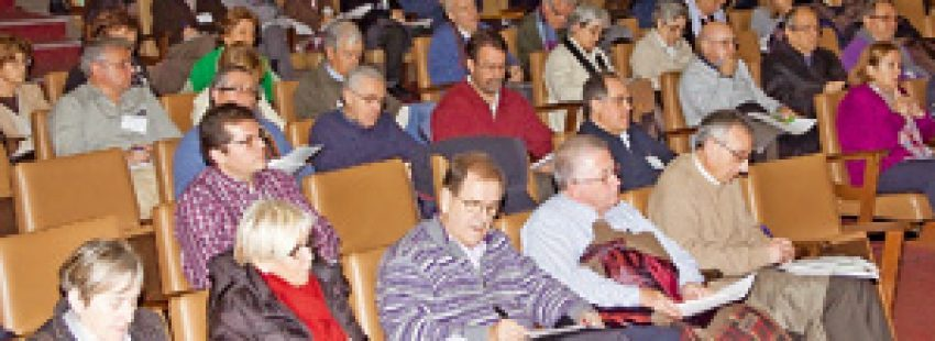 asistentes a la 24 Semana de Teología Pastoral del ISP