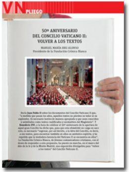 Pliego Vida Nueva exposición 50 años Vaticano II volver a los textos enero 2013