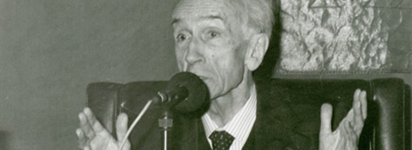 José Gómez Caffarena, jesuita filosofo fallecido en 2013