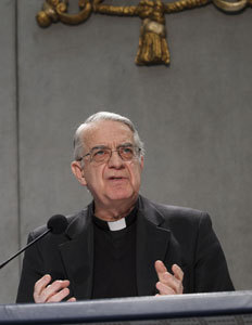 Federico Lombardi portavoz de la Santa Sede