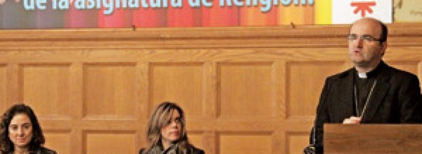 José Ignacio Munilla obispo de San Sebastián en Simposio asignatura de Religión