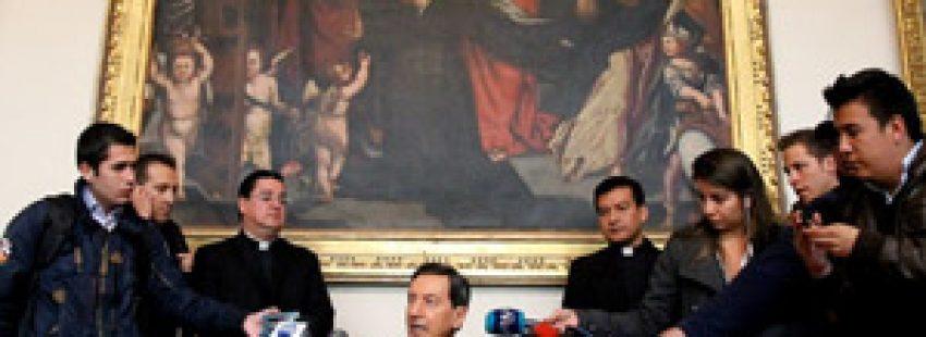 cardenal Rubén Salazar en rueda de prensa renuncia Papa