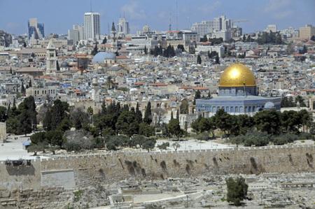 panorámica de Jerusalén Tierra Santa