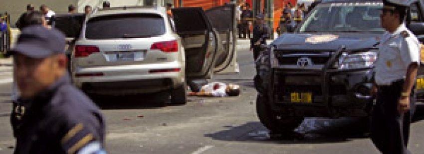 asesinato de un hombre en Guatemala en plena calle
