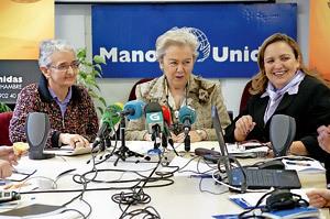 rueda de prensa presentación campaña de Manos Unidas 2013 por la igualdad