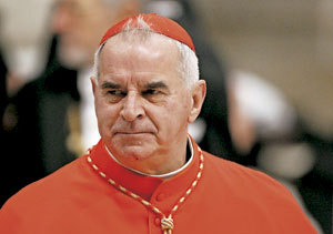 cardenal escocés Keith O'Brien renuncia al cónclave
