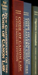libros de código de derecho canónico