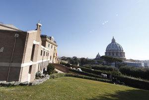 el monasterio Mater Ecclesiae donde va a vivir el Papa