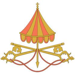 símbolo de la sede vacante