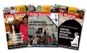 tres portadas de la revista Vida Nueva