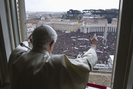 último Angelus de Benedicto XVI como Papa 24 febrero 2013