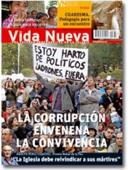 Vida Nueva portada corrupción febrero 2013