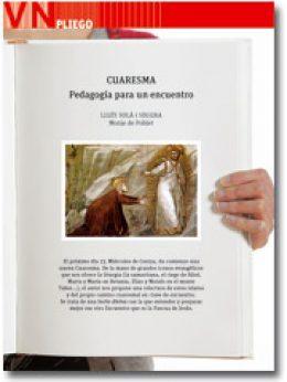 Vida Nueva Pliego Cuaresma 2013