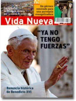 Vida Nueva portada Benedicto XVI renuncia febrero 2013