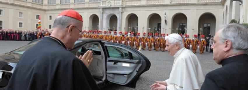 Benedicto XVI se va del Vaticano el 28 de febrero 2013