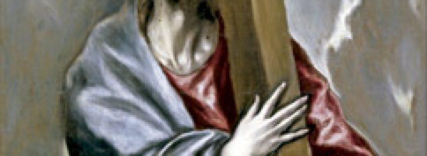 Cristo con la Cruz, cuadro de El Grego