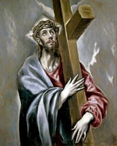 Cristo con la cruz a cuestas, cuadro de El Grego