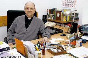 Enrique Climent, superior de la comunidad jesuita de Alcalá de Henares donde estuvo Bergoglio