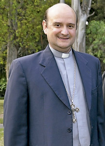 Enrique Eguía, obispo auxiliar Buenos Aires y secretario general Conferencia Episcopal Argentina