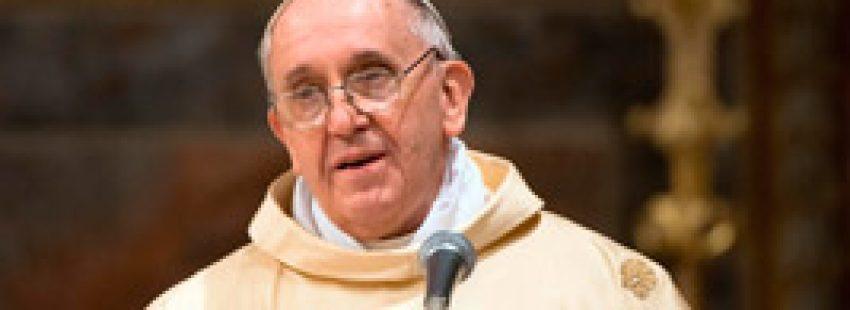 papa Francisco en su primera misa 14 marzo 2013 Capilla Sixtina