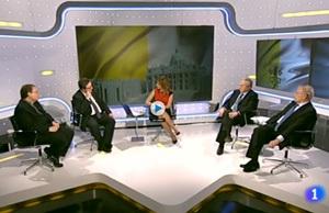 Juan Rubio debate cónclave TVE