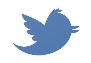 Larry pájaro logotipo de Twitter