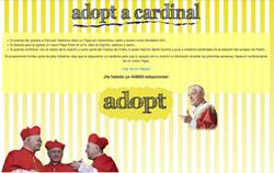sitio web Adopta un cardenal