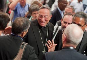 cardenal Óscar Andrés Rodríguez Maradiaga, arzobispo de Tegucigalpa Honduras