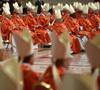 cardenales en la Misa Pro Eligendo Pontifice conclave 2013