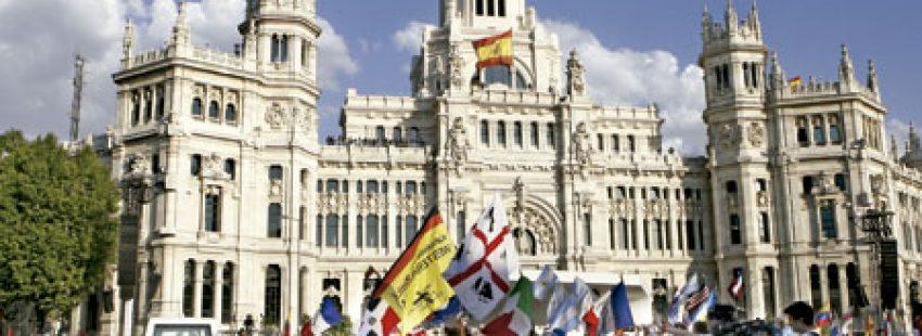plaza Cibeles Madrid JMJ agosto 2011
