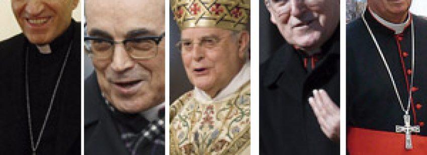 cinco cardenales españoles en el cónclave