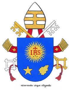 escudo y lema papa Francisco