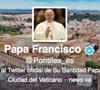 papa Francisco en Twitter Pontifex